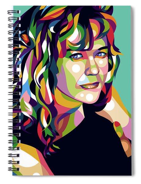 Meg Ryan Spiral Notebook