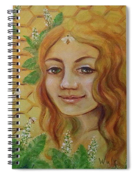 Melissa - Bee Goddess Spiral Notebook