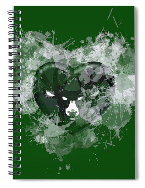 Melwaukeee Heart Spiral Notebook