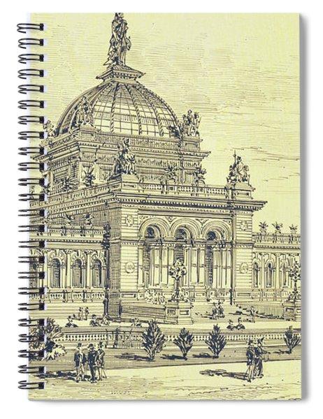 Memorial Hall, Centennial Spiral Notebook