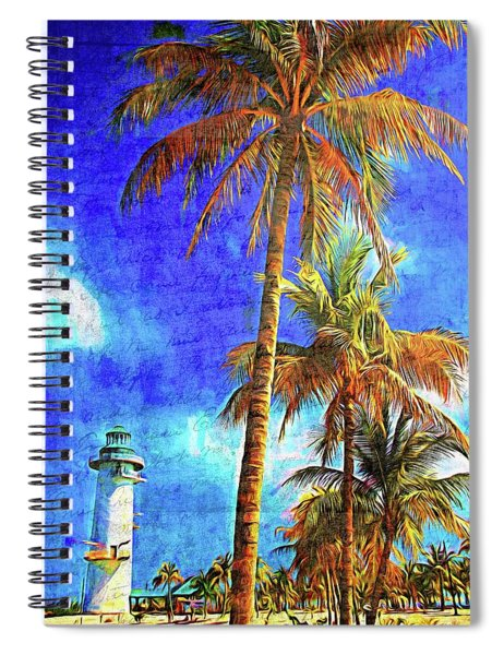 Memories From Harvest Caye Spiral Notebook