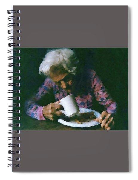 Memories Of Mama Spiral Notebook