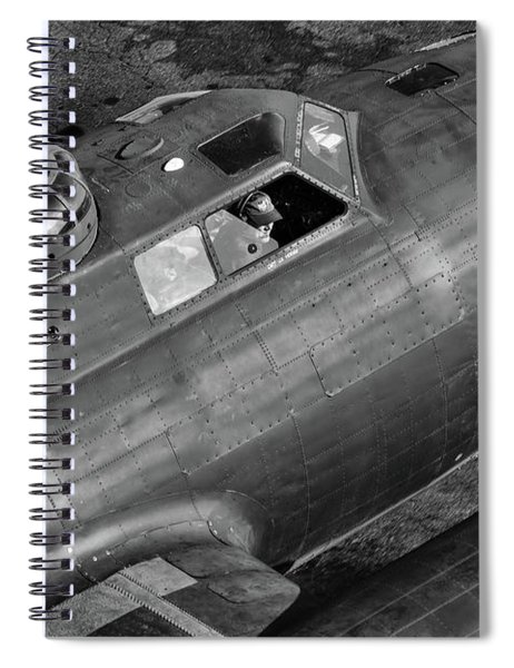 Memphis Belle From On High Spiral Notebook