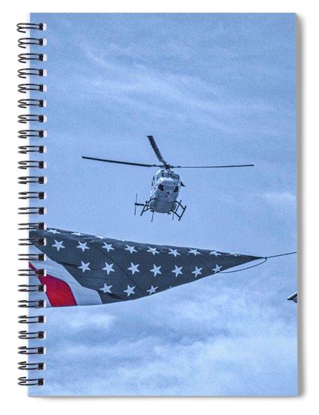 Mercy Flight Of Western New York Spiral Notebook