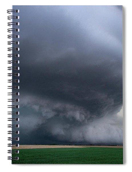 Mesocyclone Spiral Notebook