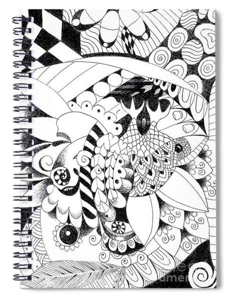Metamorphosis 2 Spiral Notebook