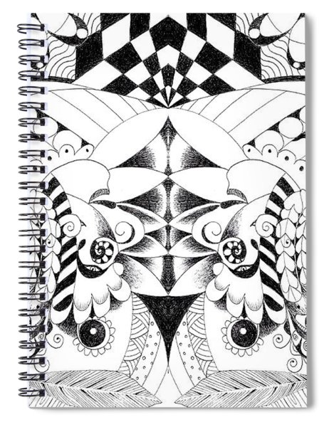 Metamorphosis Arrangement 3 Spiral Notebook