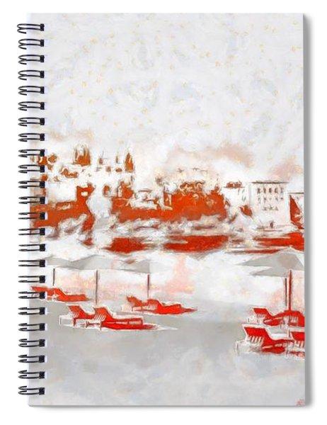 Metenegro Port View Spiral Notebook