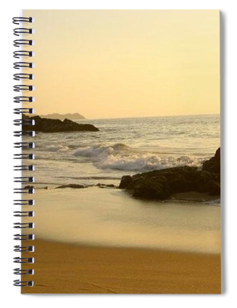Mexico Sunset Spiral Notebook