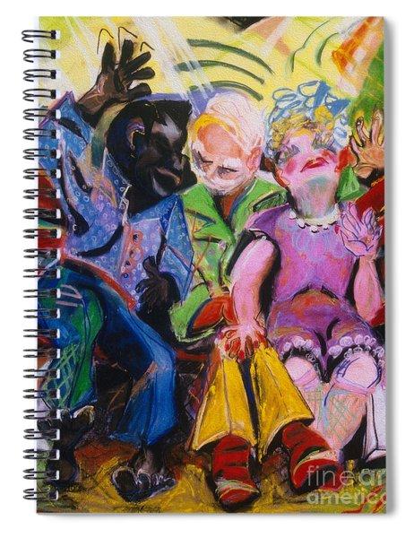 Miami Bench Spiral Notebook