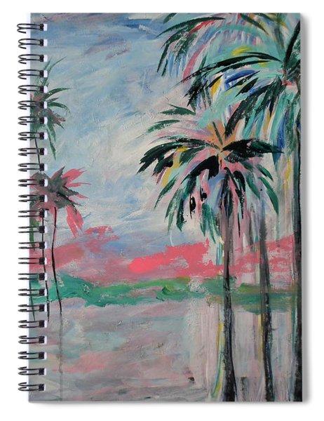 Miami Palms Spiral Notebook