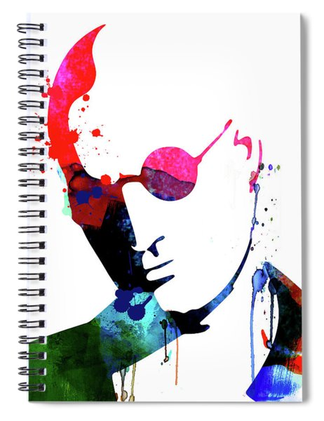 Mickey Watercolor Spiral Notebook