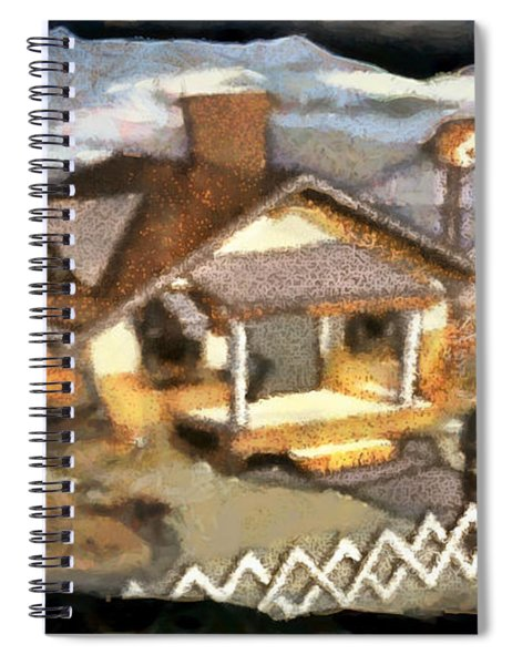 Mickey's Compact Trailer Spiral Notebook by Mario Carini