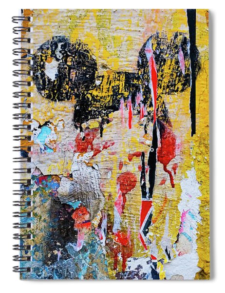 Spiral Notebook featuring the photograph Mickeys Nightmare by Skip Hunt