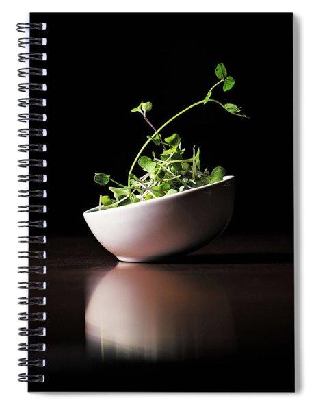 Micro Greens Spiral Notebook