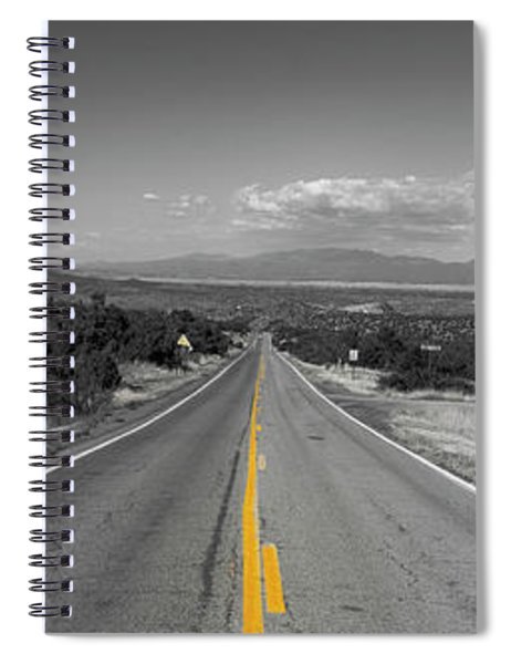 Middle Of The Road Spiral Notebook