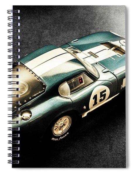 Midnight Blue Spiral Notebook