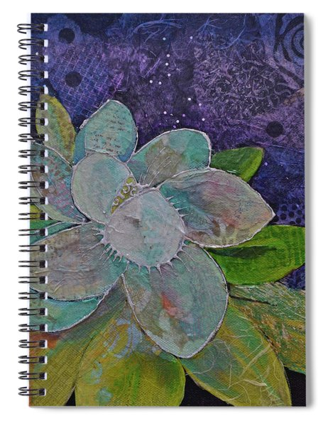 Midnight Magnolia I Spiral Notebook