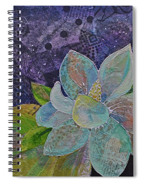 Midnight Magnolia II Spiral Notebook