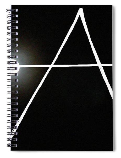 Midnight Monogram Spiral Notebook