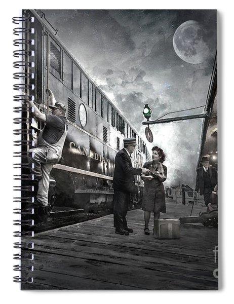 Midnite Run Spiral Notebook