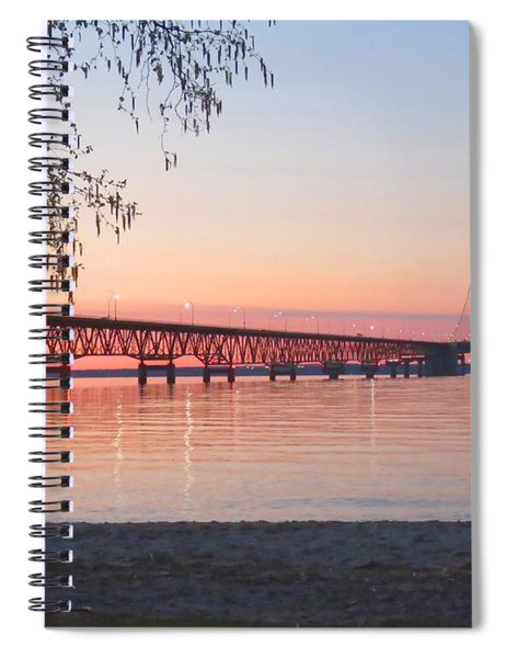Mighty Mac And Birch Tree Spiral Notebook