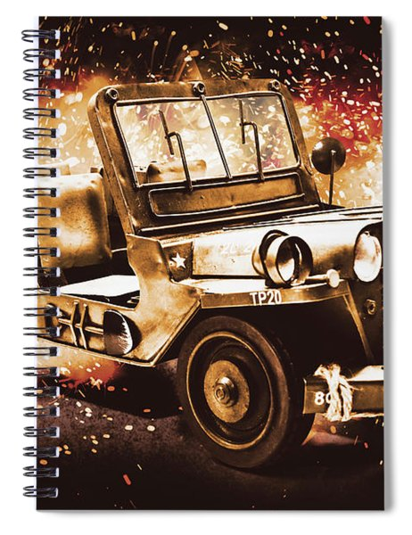Military Machine Spiral Notebook