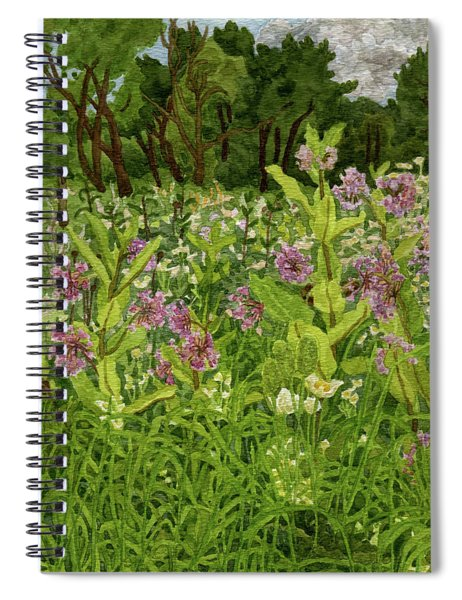 Milk And Thimble Weeds Spiral Notebook