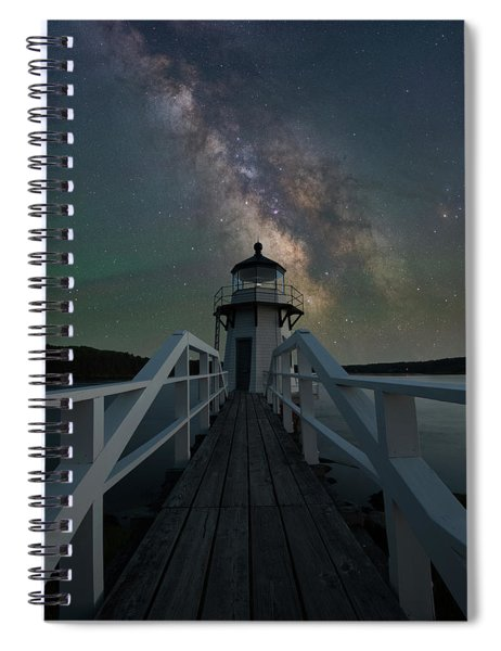 Milky Way Over Doubling Point Spiral Notebook