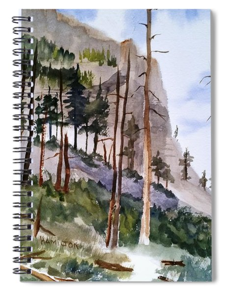 Mill Creek Canyon Spiral Notebook