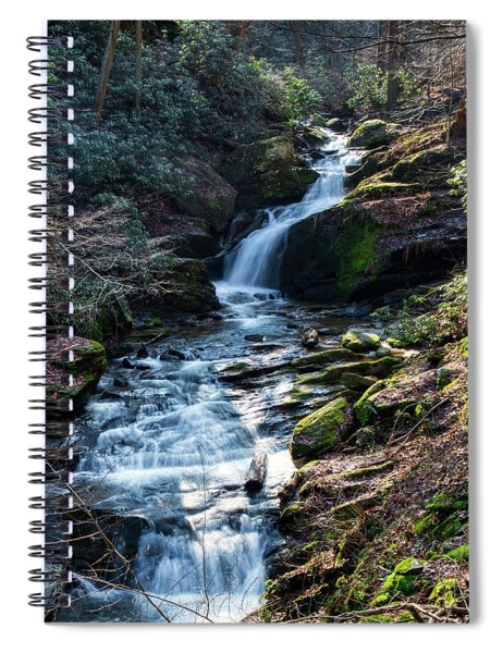 Mill Creek Falls  Spiral Notebook