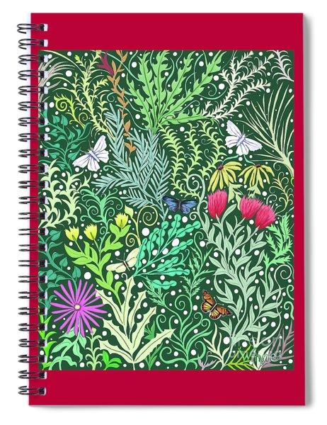 Millefleurs Spiral Notebook