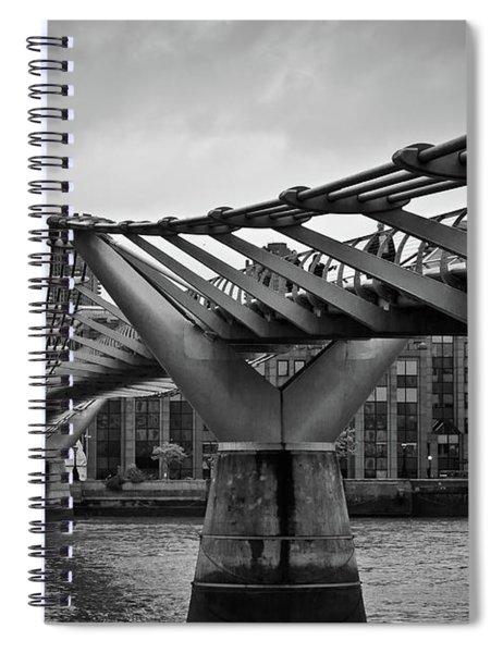 Millennium Bridge 01 Spiral Notebook