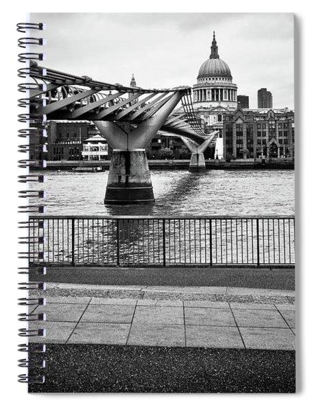 millennium Bridge 02 Spiral Notebook