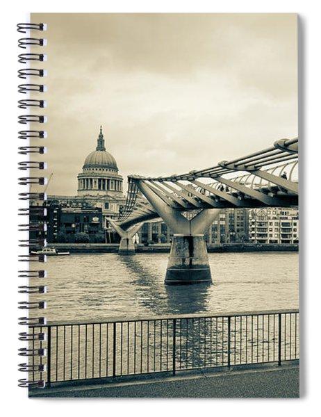 Millennium Bridge 03 Spiral Notebook