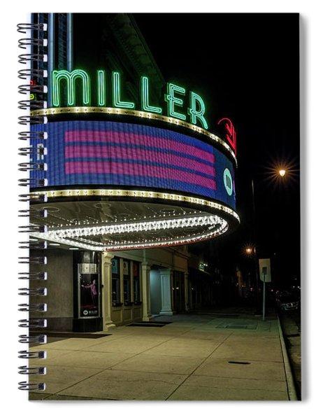 Miller Theater Augusta Ga 2 Spiral Notebook