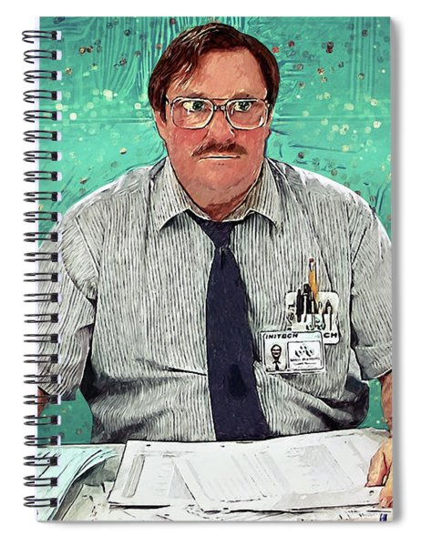 Milton - Office Space Spiral Notebook