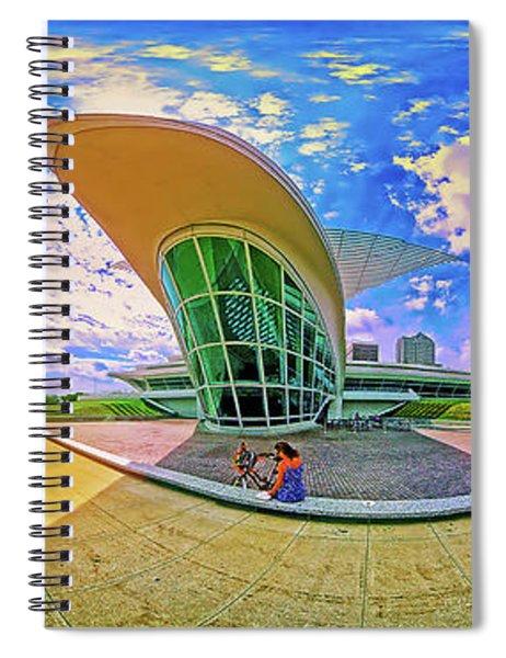 Milwaukee Art Musem  Tom Jelen Spiral Notebook