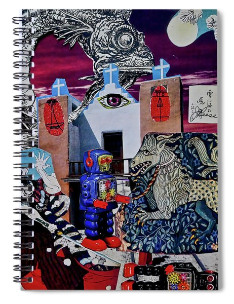 Mind's Eye Spiral Notebook