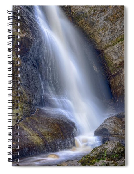 Miners Falls Spiral Notebook