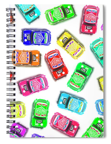 Mini Mayhem Spiral Notebook