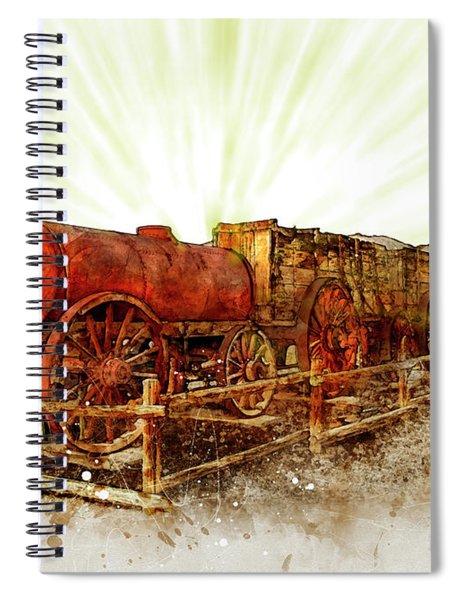Mining Death Valley Spiral Notebook