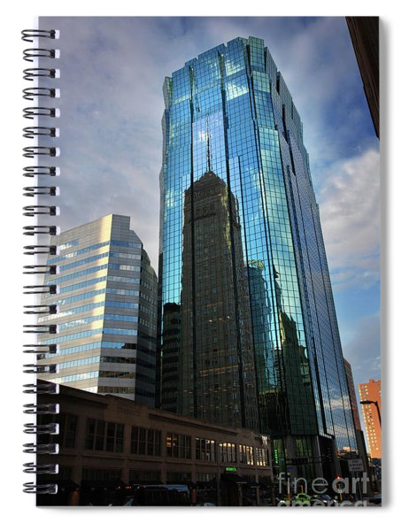 Minneapolis Skyline Photography Foshay Tower Spiral Notebook