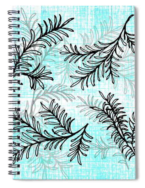 Miro Tree Branches Spiral Notebook