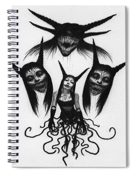 Miss Carnivorous - Artwork Spiral Notebook