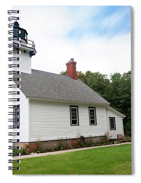 Mission Point Lighthouse Spiral Notebook