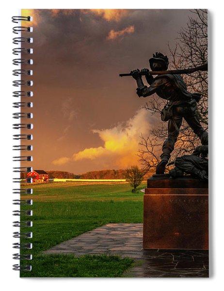 Mississippi Storm Spiral Notebook