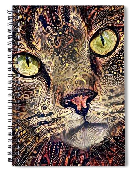 Mister Intensity Spiral Notebook