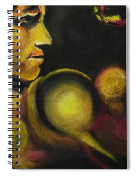 Mister Of The Universe Spiral Notebook