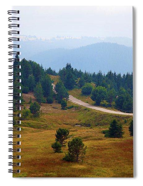 Misty Afternoon Spiral Notebook